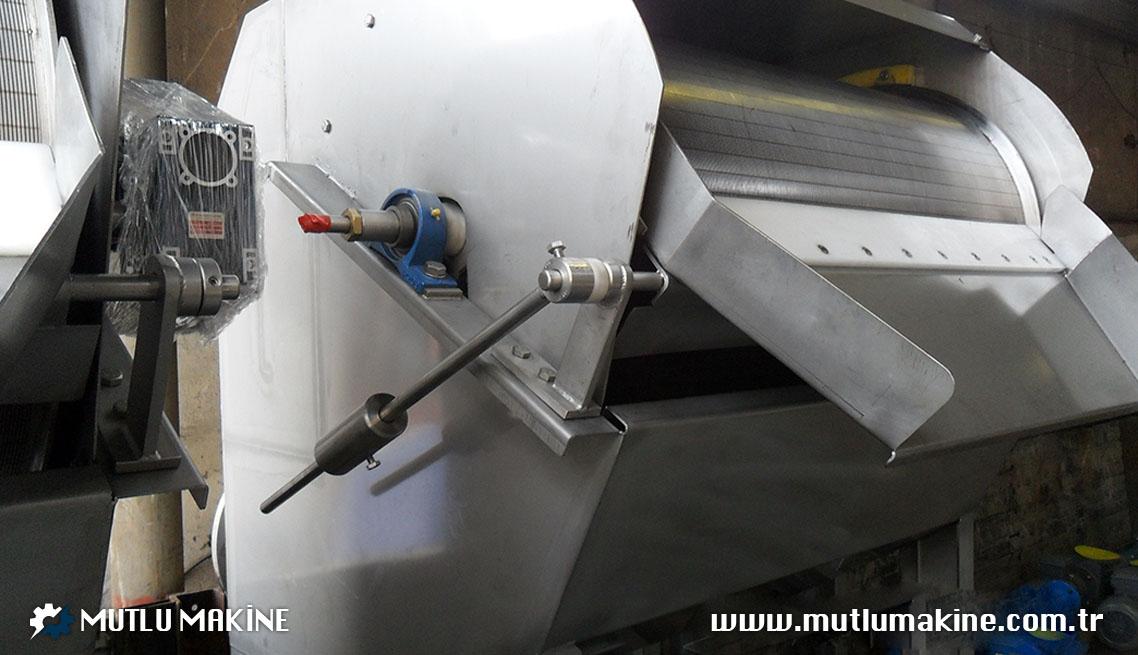 dış akışlı tambur elek makinesi