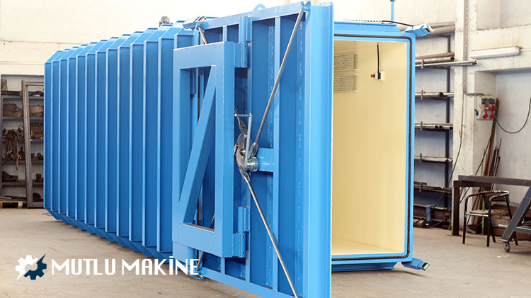 fümigasyon odası imalat