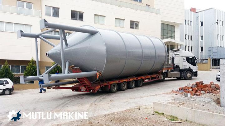 çökeltim tankı yapımı