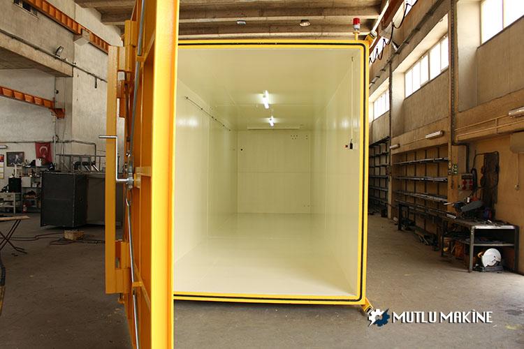 fumigasyon tankı makinesi