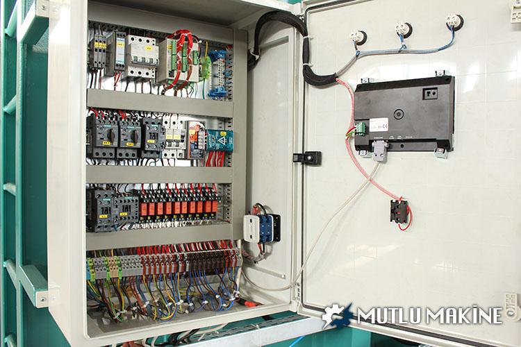 vakum tankı elektronik paneli
