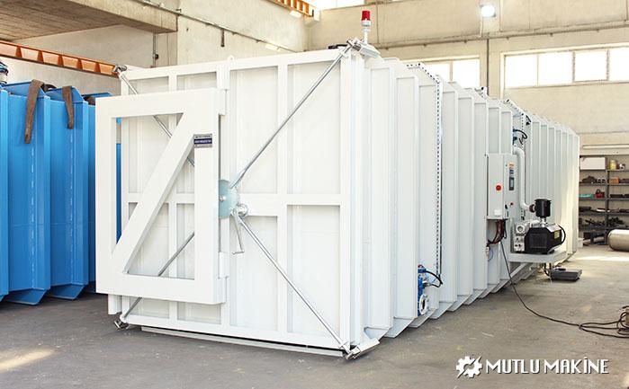 vakumlu fumigasyon kabini