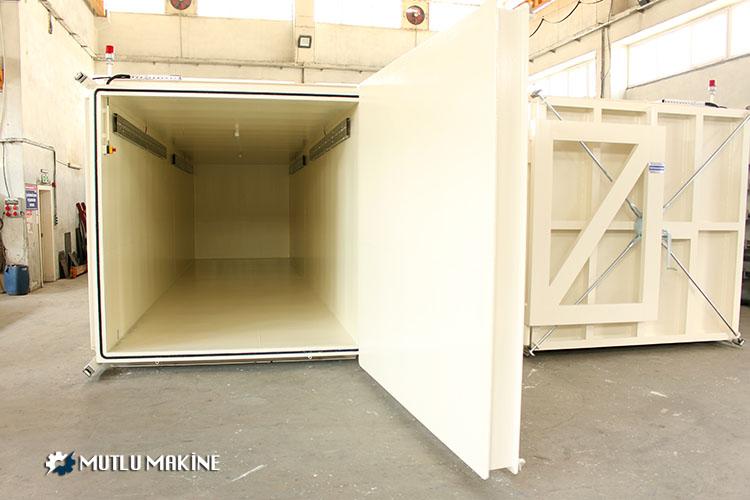 vakum fumigasyon kabini